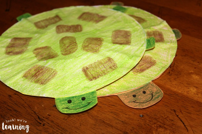 Easy Coffee Filter Turtles Craft