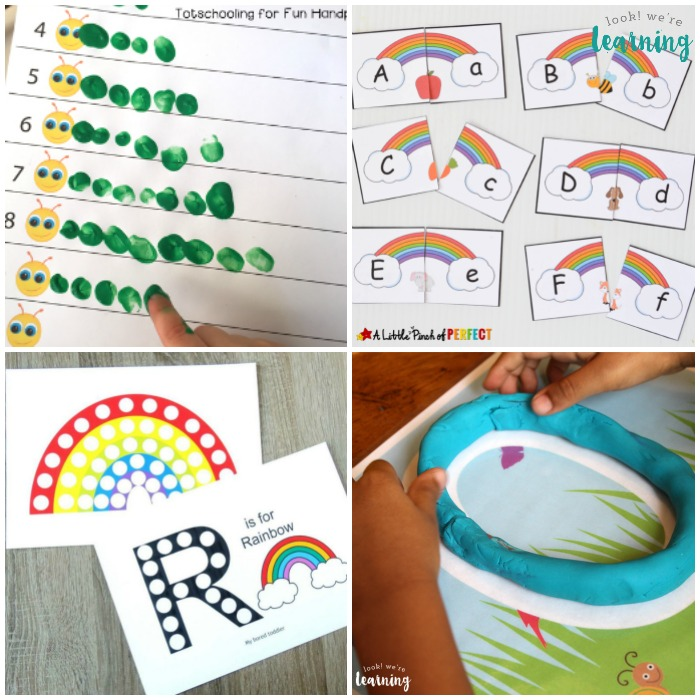Free Spring Printables for Preschoolers