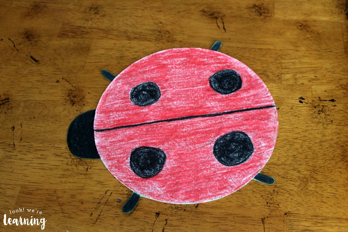 Fun Coffee Filter Ladybug Craft - Look! We're Learning!