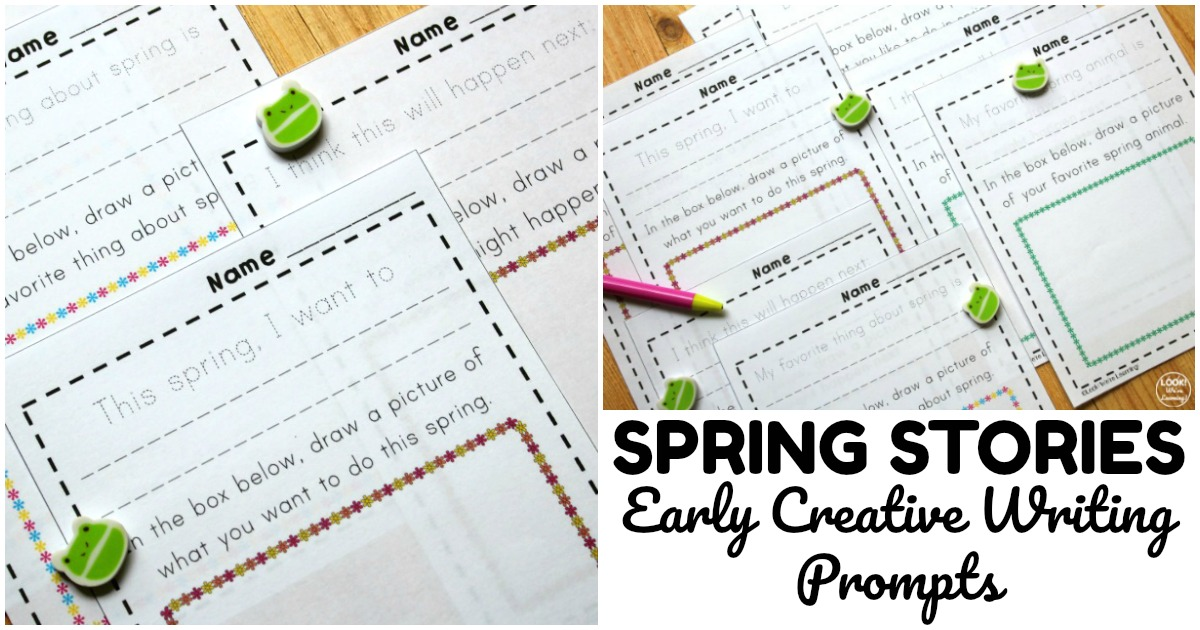 Fun Spring Early Creative Writing Prompts