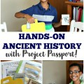 Give your homeschoolers a rich lesson in history with the incredible hands-on history unit studies from Project Passport!