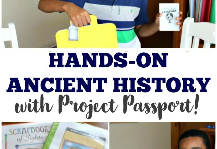 Hands-On Ancient History with Project Passport!