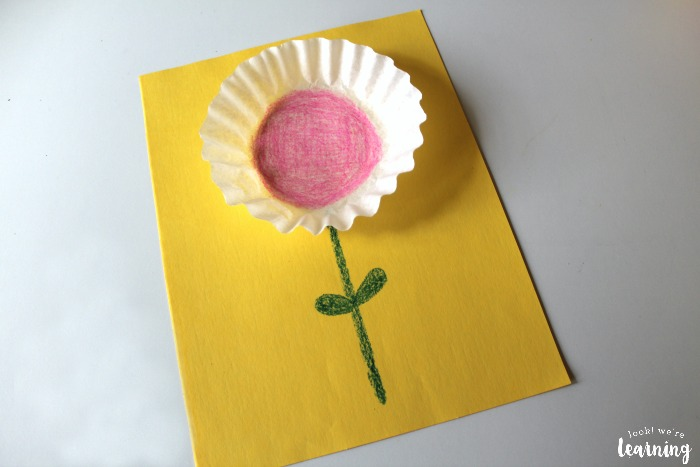 How to Make a Simple Coffee Filter Flower Craft