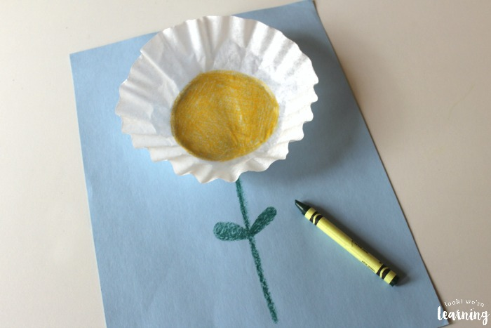 How to Make an Easy Coffee Filter Flower Craft