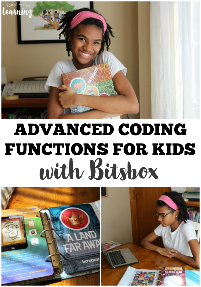 Learn to use if else statements and other advanced coding functions for kids with Bitsbox!