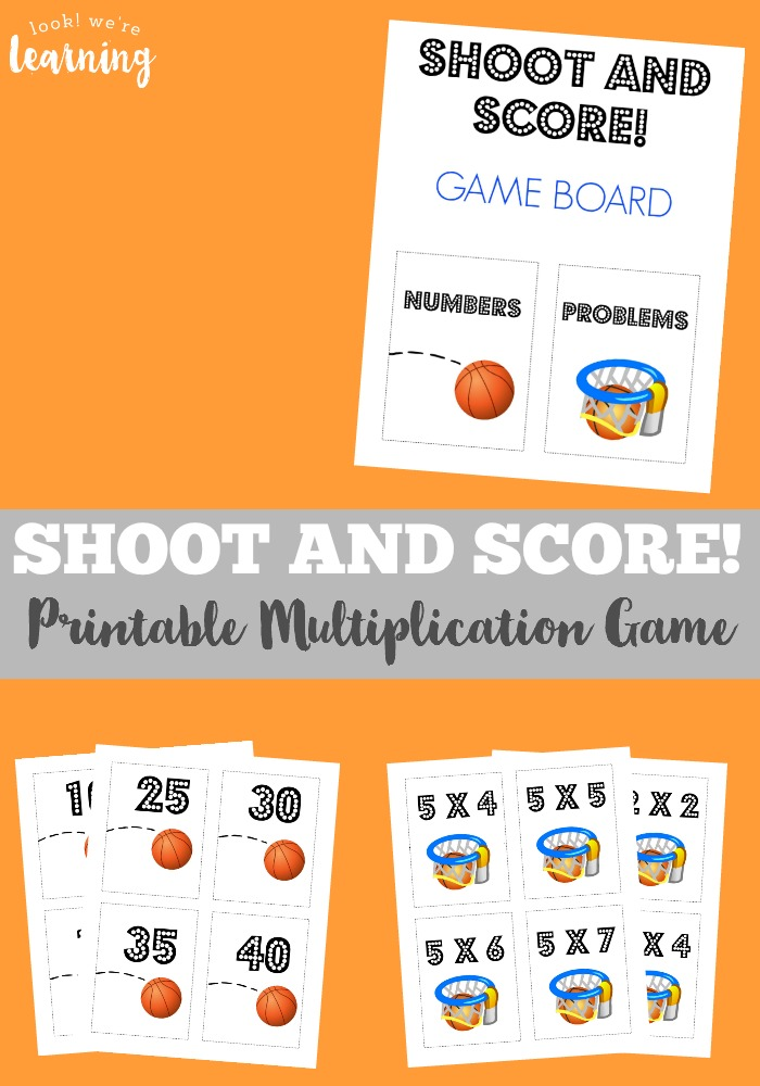 Make learning times tables a snap with this printable multiplication game for kids!