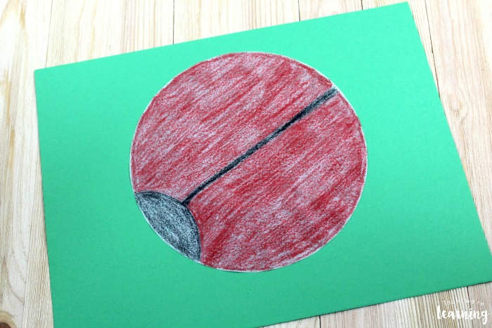 Making a Coffee Filter Ladybug Craft with Kids
