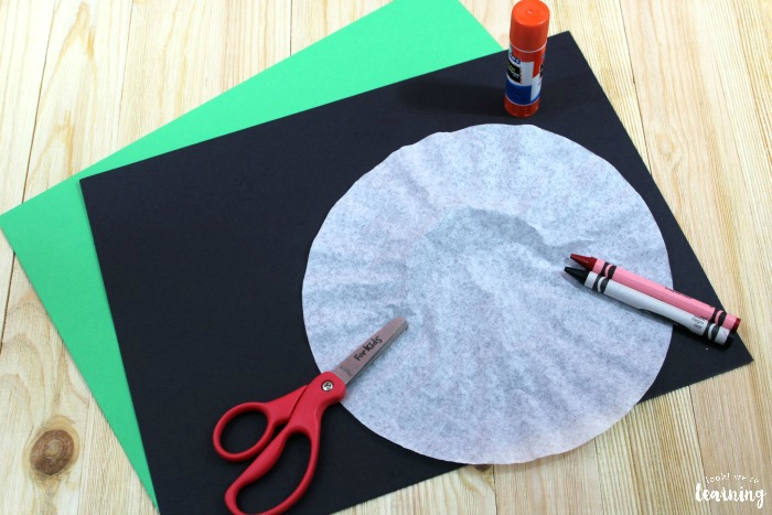 Making a Coffee Filter Ladybug Craft