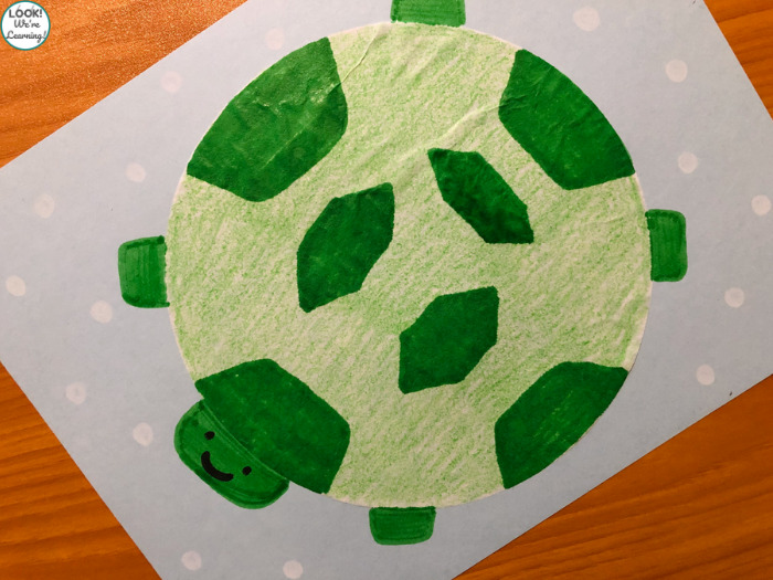 Making a Turtle Craft with Kids