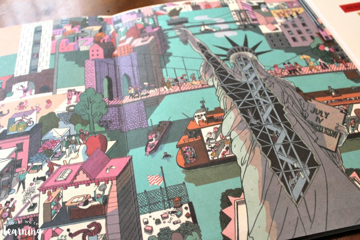 New York Inside and Out Picture Book Statue of Liberty