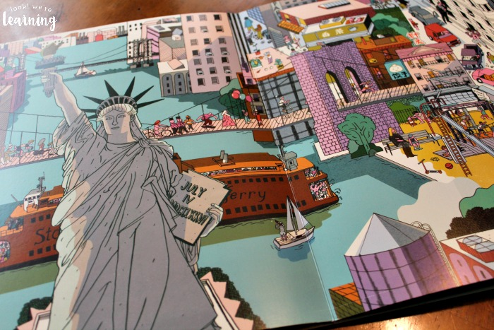 New York Inside and Out Picture Book