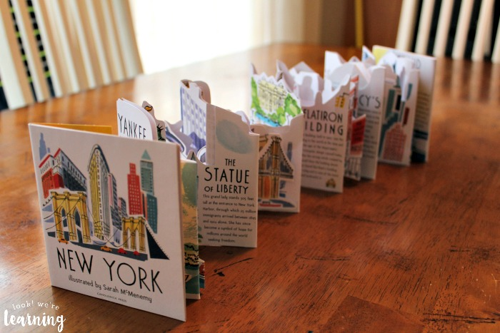 Panorama Pops New York Picture Book Unfolded