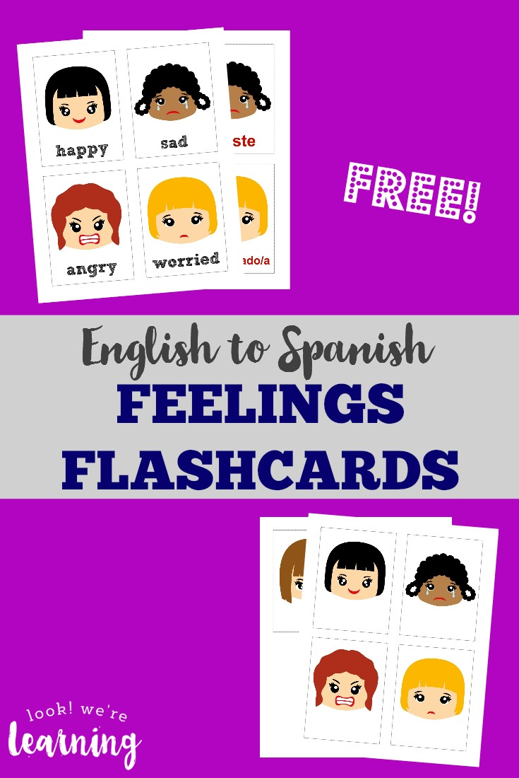 image about Feelings Cards Printable known as Emotions Flashcards Cost-free Printable