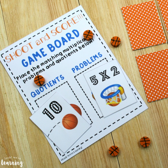 Printable Multiplication Game for Kids