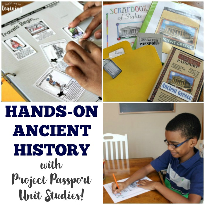 Project Passport Hands-On History Unit Studies - Look! We're Learning!