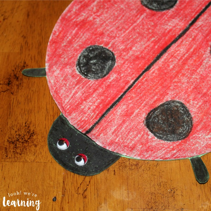 Simple Coffee Filter Ladybug Craft - Look! We're Learning!