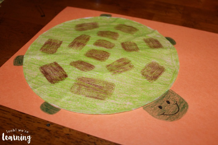 Turtle Coffee Filter Craft