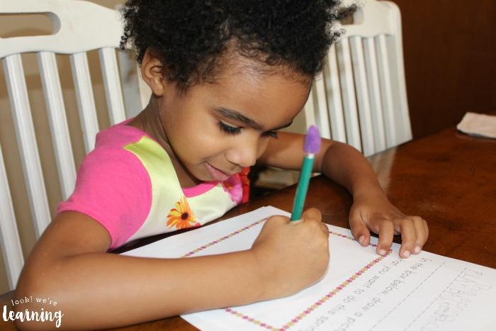 Writing Stories for Preschoolers