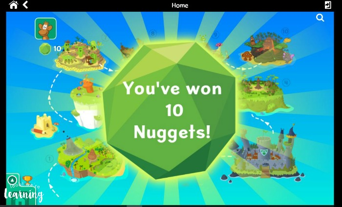 Collecting Points with Nessy Reading & Spelling