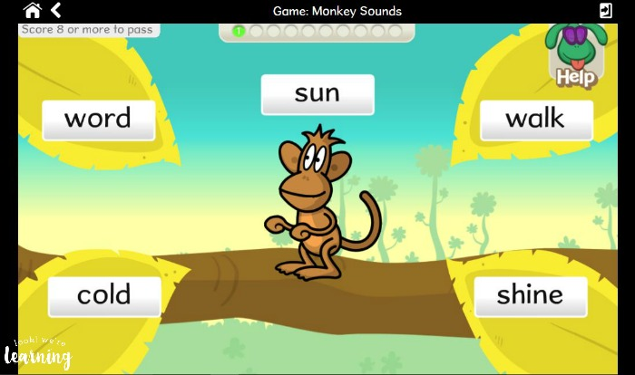Compound Word Game with Nessy Reading & Spelling