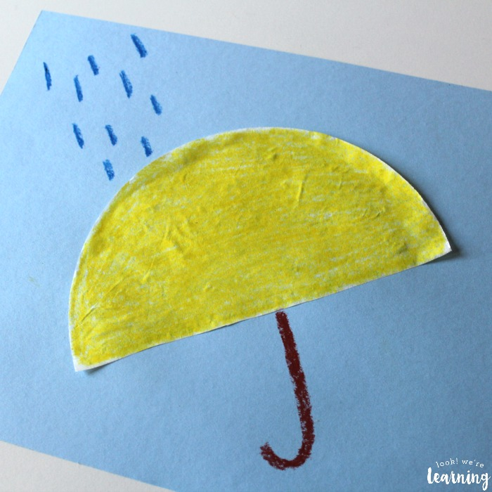 Easy Coffee Filter Umbrella Craft