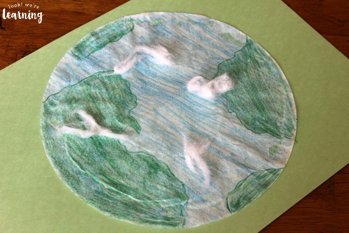 Easy Preschool Coffee Filter Earth Craft