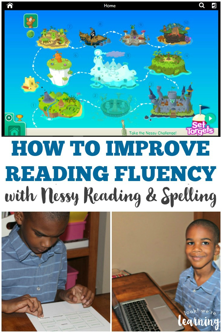 Help your early readers improve reading fluency and spelling with Nessy Reading & Spelling! See how in this partnered post!