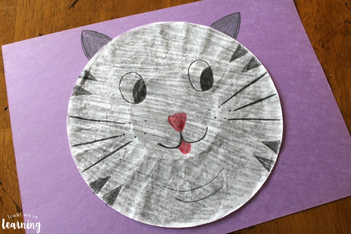 Make a Cat Craft with Coffee Filters