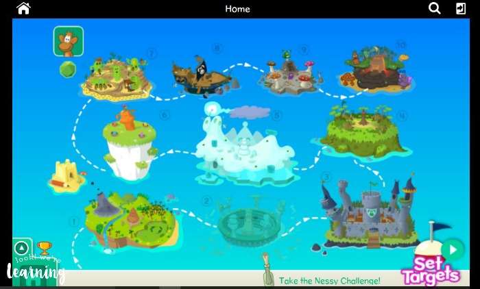 Nessy Reading & Spelling Islands