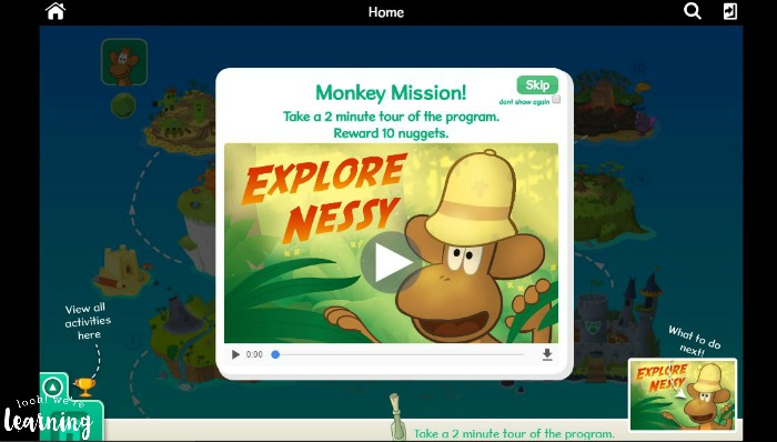 Nessy Reading & Spelling Opening Tour