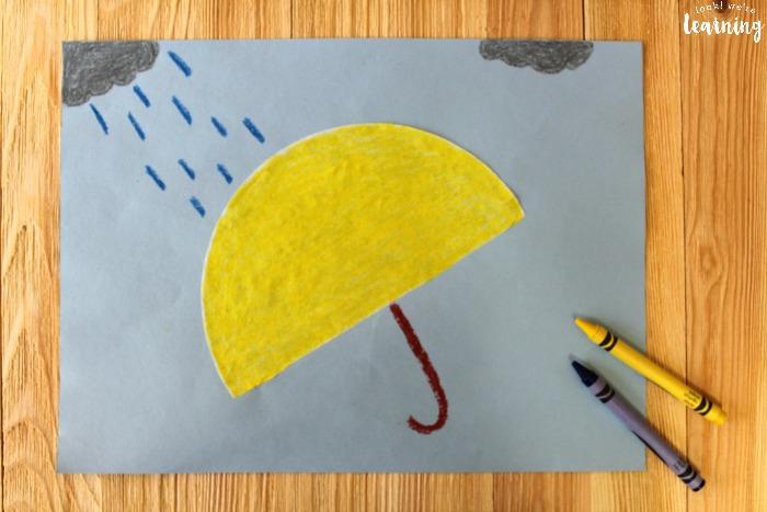 Quick and Easy Coffee Filter Umbrella Craft