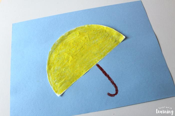 Simple Coffee Filter Umbrella Craft