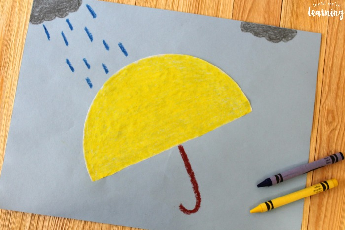 Super Easy Coffee Filter Umbrella Craft