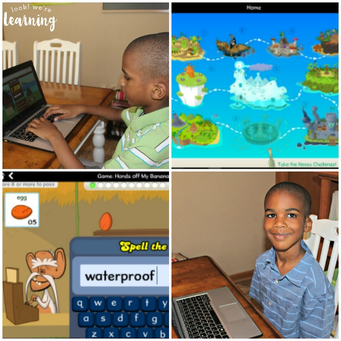 Using Nessy Reading & Spelling Program to Help Active Kids Read