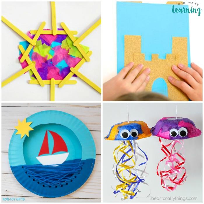 50 Summer Crafts for Kids