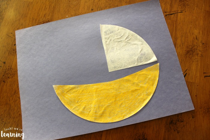 Coffee Filter Sailboat Craft for Kids