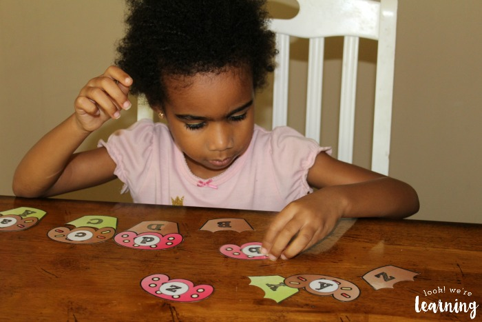 Cupcake Letter Matching for Kids
