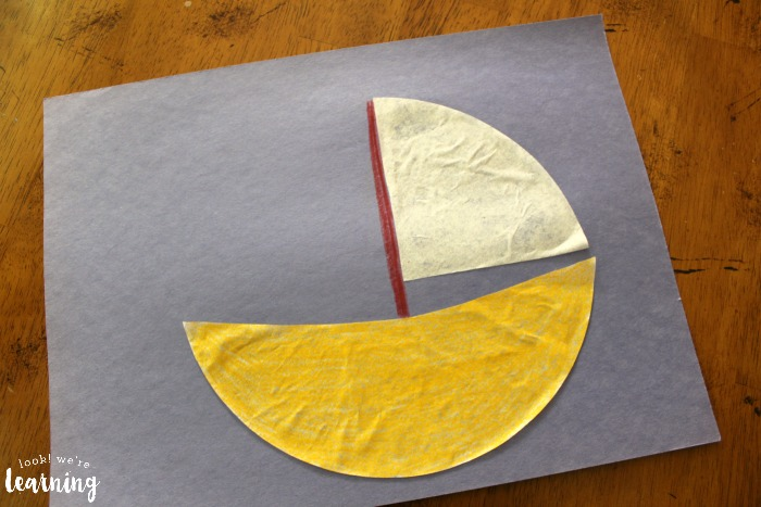 Easy Coffee Filter Sailboat Craft