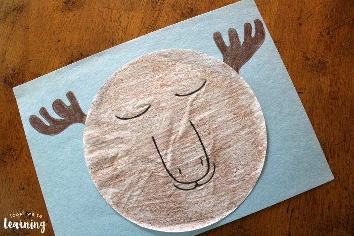 Easy Preschool Moose Craft