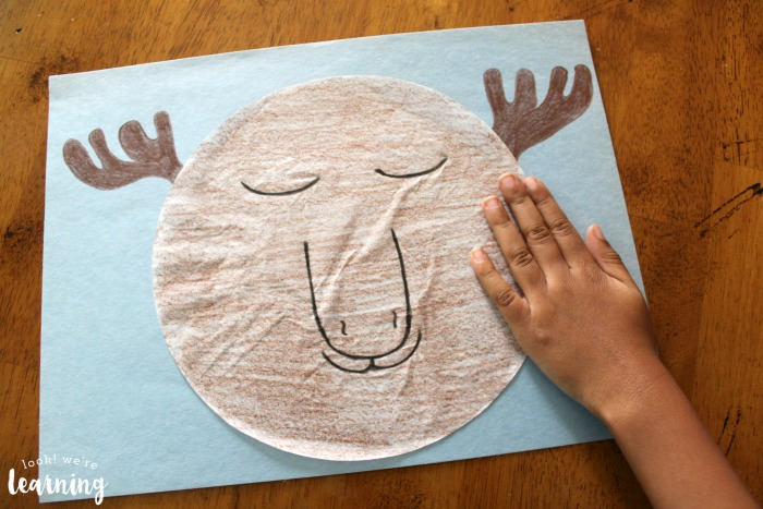 Sleepy Moose Coffee Filter Craft