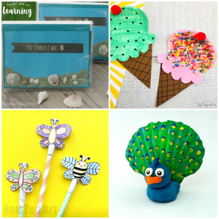 Easy summer crafts for all ages crafting for Fun crafts for all ages