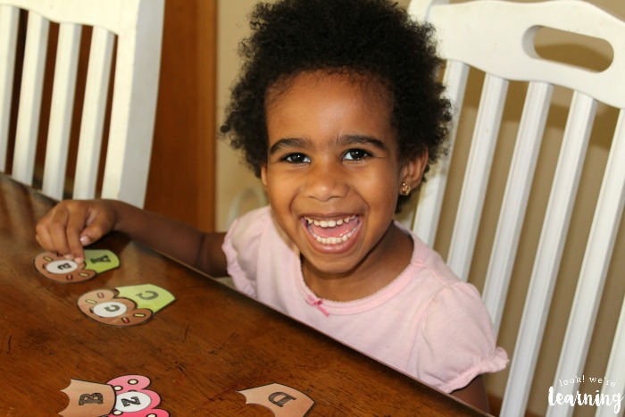 Uppercase and Lowercase Letter Matching Activity for Kids