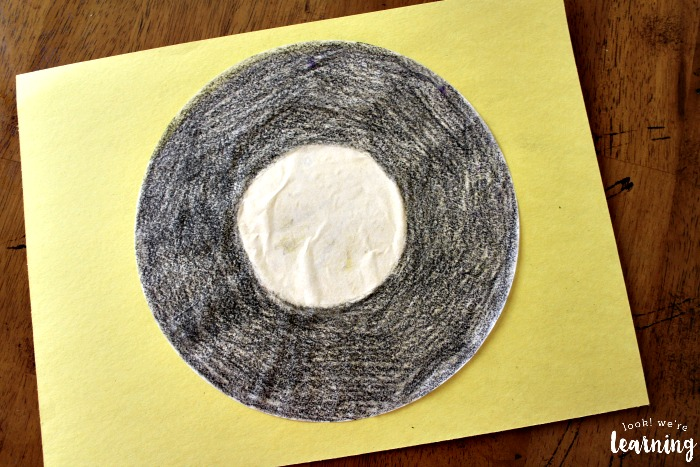 Vinyl Record Coffee Filter Craft