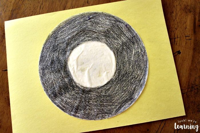 Vinyl Record Coffee Filter Craft