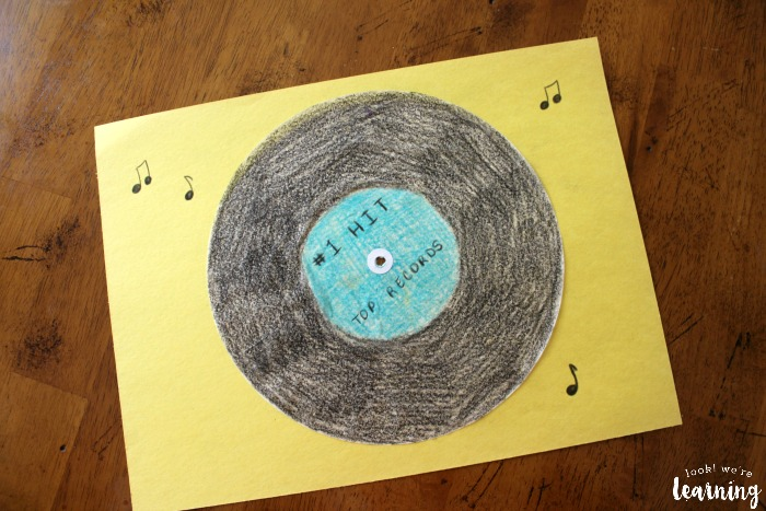 Vinyl Record Craft Kids Can Make