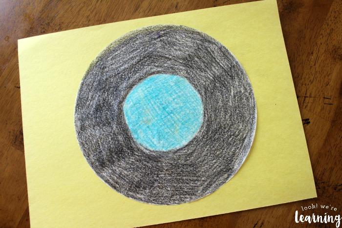 Vinyl Record Craft for Kids