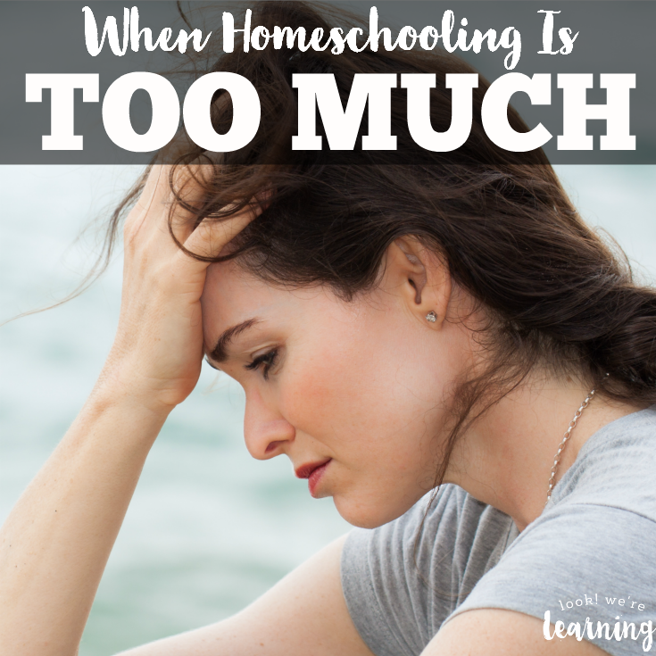 When Homeschooling Feels Like Too Much