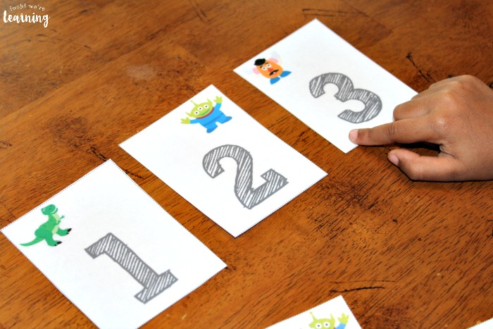 Counting to 100 Flashcards for Preschoolers
