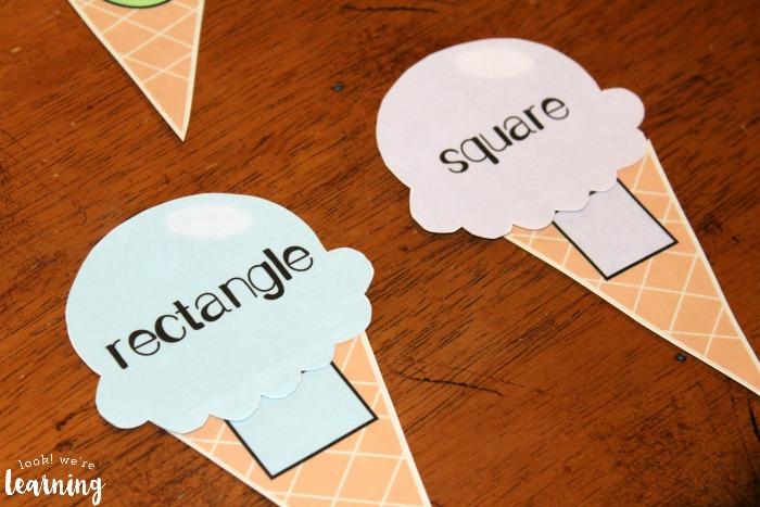 Easy Preschool Shape Sorting Activity