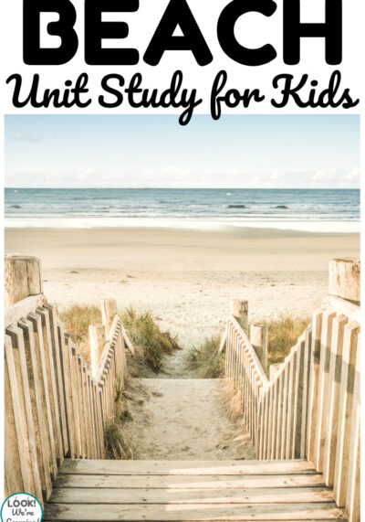 Learn about geography, science, and more with this fun beach unit study for kids!